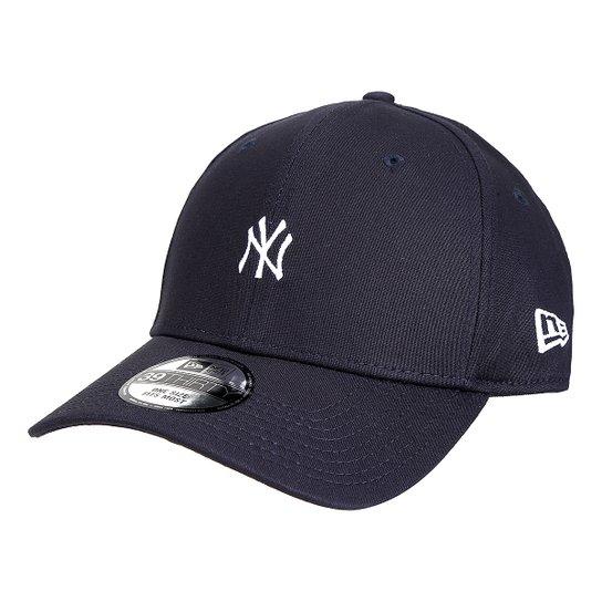 Boné New Era MLB New York Yankees Aba Curva 3930 Core - Compre Agora ... 91295db8bbf