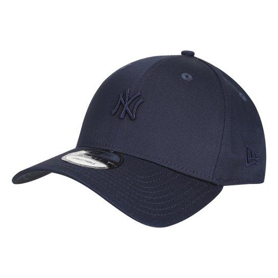 Boné New Era MLB New York Yankees Aba Curva 940 Sn Core Mini Logo - Marinho 7d7a16ae9f7