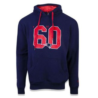 Casaco Moletom New England Patriots Sports Vein New Era dce03cdc7ffb0