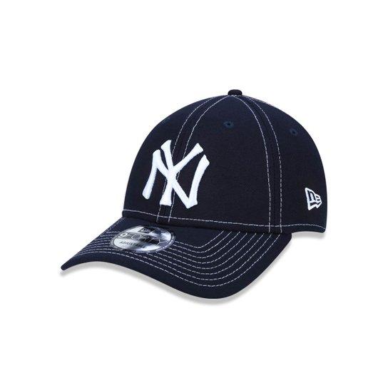 7d9a7beaf Boné 940 New York Yankees MLB Aba Curva Snapback New Era - Marinho ...