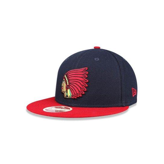 Boné 950 Boston Red Sox MLB Aba Reta Snapback New Era - Marinho ... 1d7f8aa5c2d