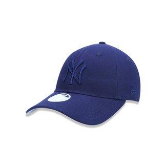1992f76fa502e Boné 920 New York Yankees MLB Aba Curva Strapback New Era