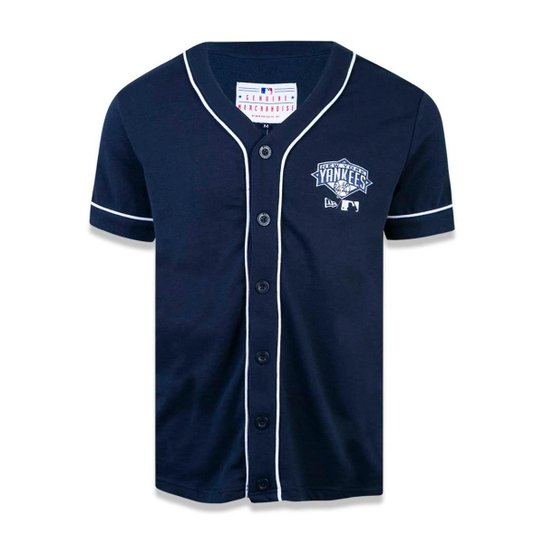 ee11045324da6 Camisa New York Yankees MLB New Era Masculina - Marinho - Compre ...