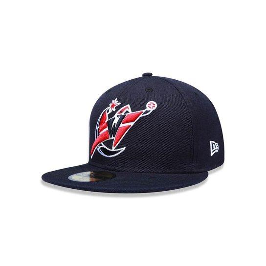 Bone 5950 Washington Wizards NBA Aba Reta New Era - Compre Agora ... f3656ada478