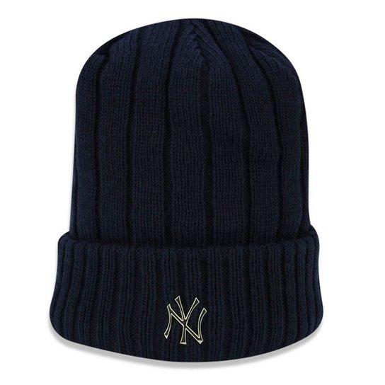 b97fbc2a4b15e Gorro Touca New York Yankees Core Badge Slick - New Era - Compre ...