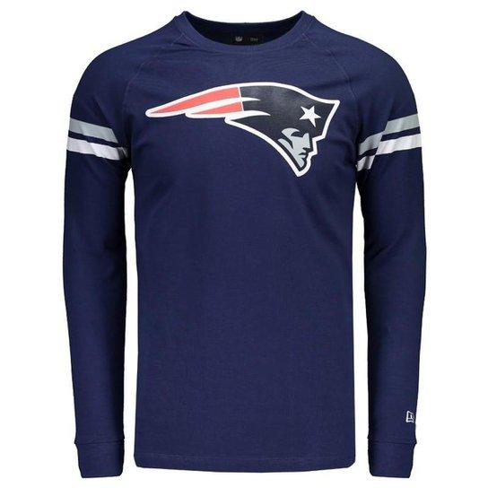 44d5637bc5e67 Camiseta New Era Manga Longa New England Patriots - Compre Agora ...