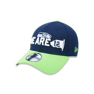 e81986a55f1f0 Boné 3930 Seattle Seahawks NFL Aba Curva New Era
