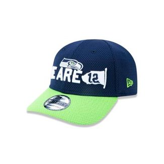 Boné 3930 Seattle Seahawks NFL Aba Curva New Era c172c9a719c
