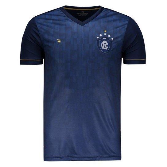 Camisa Escudo Remo Masculina - Marinho - Compre Agora  f5088e24a51f0