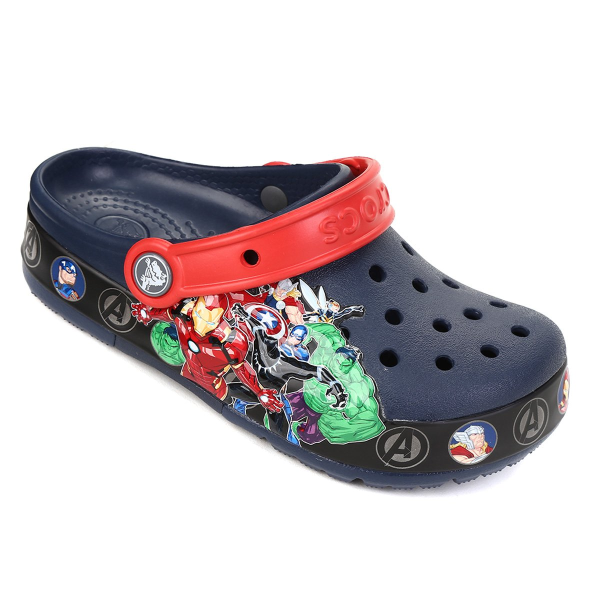 Crocs Infantil Fan Lab Marvel Band Lght Clog