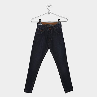 Calça Jeans Infantil Freesurf Básica Masculina