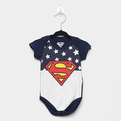 Body Infantil Marlan Superman Bebê