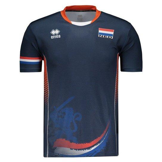 830f5ff4b Camisa Holanda Vôlei Away 2017 Errea Masculina | Netshoes