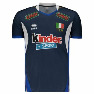 8df1d23add Camisa Itália Vôlei Third 2017 Errea Masculina