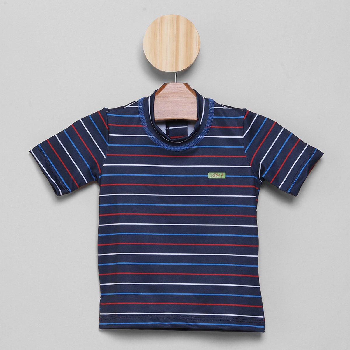 Camiseta de Praia Juvenil Boca Grande Proteção UV 50+ Masculina