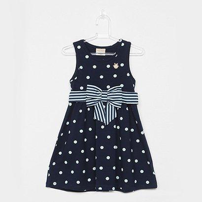 Vestido Milon COTTON Menina-10778BB
