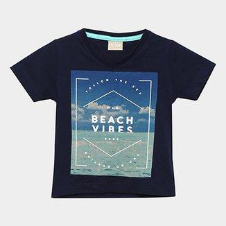 Camiseta Infantil Milon Estampa Beach Vibes Masculina 7b0fce87a88