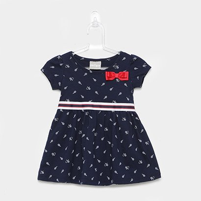 Vestido Infantil Milon Laço Listra