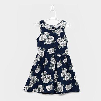 Vestido Infantil Milon Cotton Regata Floral