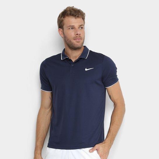 39d58bbcc5b Camisa Polo Nike Dry Team Masculina - Marinho - Compre Agora