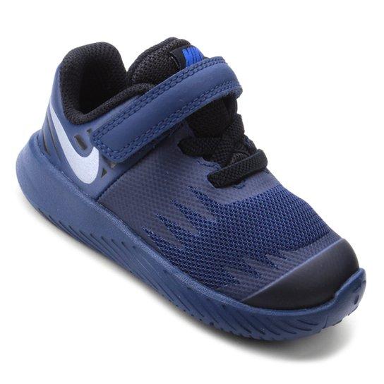 Tênis Infantil Couro Nike Star Runner Reflective Masculino - Marinho ... 50895dd911426