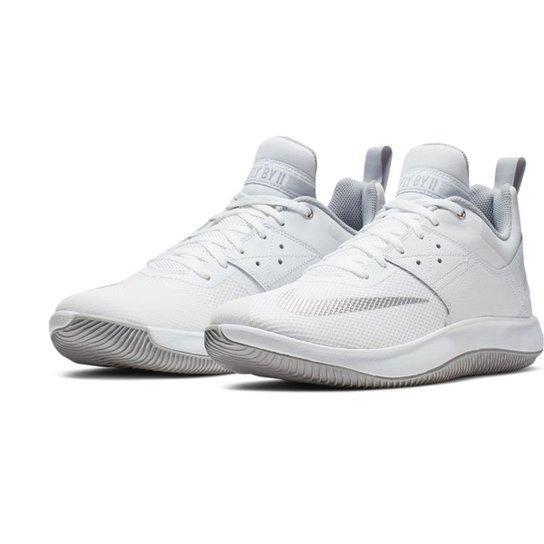 2d6dc18dba9e5 Tênis Nike Fly By Low II Masculino - Branco e prata - Compre Agora ...