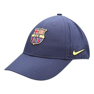 Boné Infantil Barcelona Nike Aba Curva 5b4e3a3f208