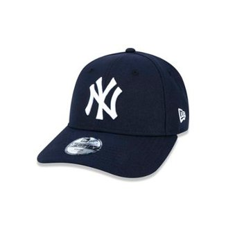 ee7e719a3cf76 Boné 940 New York Yankees MLB Aba Curva Strapback New Era