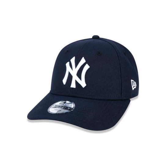 9135b388d3e1d Boné 940 New York Yankees MLB Aba Curva Strapback New Era - Marinho ...