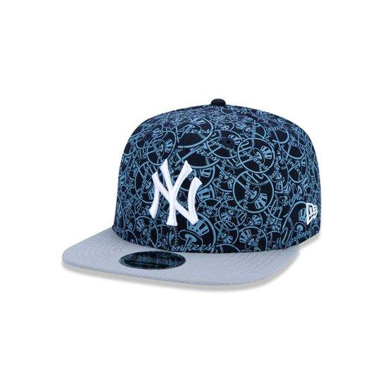Boné 950 Original Fit New York Yankees MLB Aba Reta Snapback New Era -  Marinho 8c4002a590f