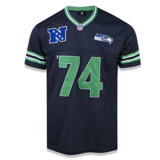 Camiseta Jersey Seattle Seahawks Sports Vein - New Era 7342f4b0325fe