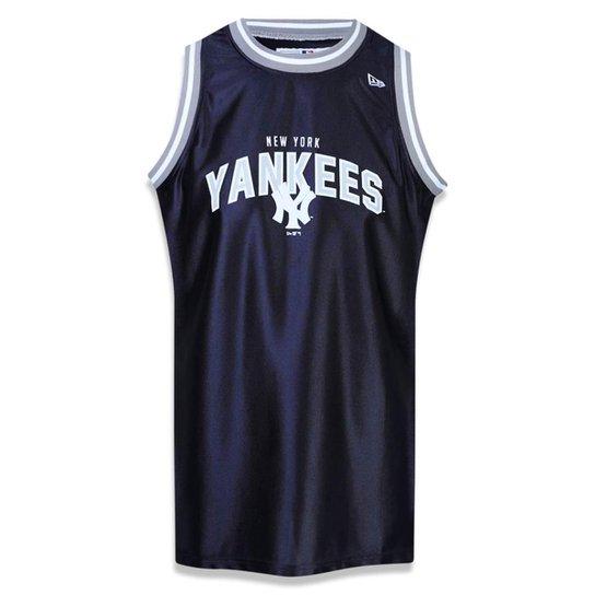 Regata New York Yankees MLB New Era Masculina - Marinho - Compre ... 7317f1ff880