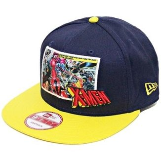 Boné New Era Aba Reta Snapback X-Men Panel 78f3f7d169a
