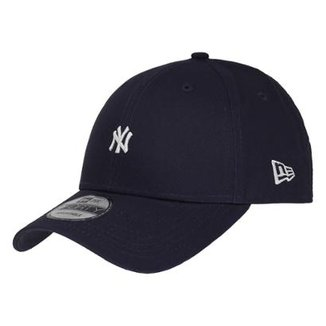 Boné New Era Aba Curva Sn Mlb Ny Yankees Tc Mini Logo Low 2ca3ceb2102