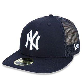 Boné New York Yankees Team Mesh Fechado New Era 032075ac8b7
