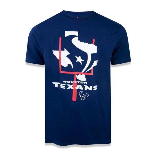 6420f11de Camiseta Houston Texans NFL New Era Masculina - Marinho - Compre ...