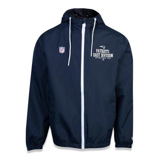 de14b8415 Jaqueta Windbreak New England Patriots NFL New Era Masculina - Marinho