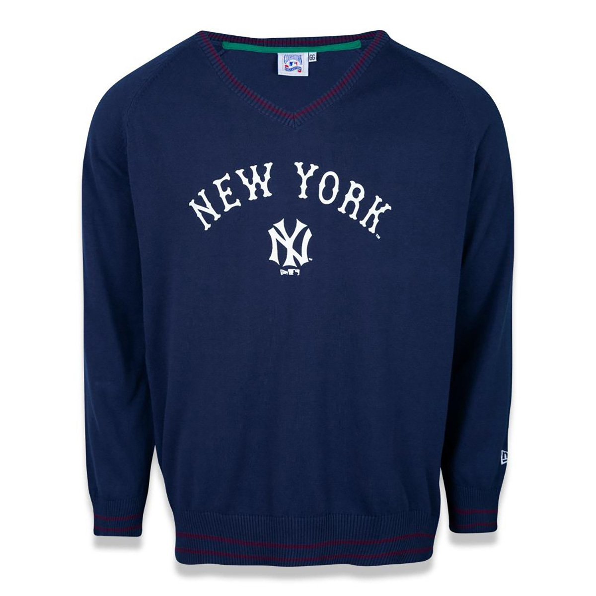 Blusa Tricô New Era MLB New York Yankees Reborn Heritage Word Masculina