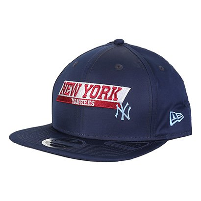 Boné New Era MLB 920 New York Yankees Aba Reta Masculino