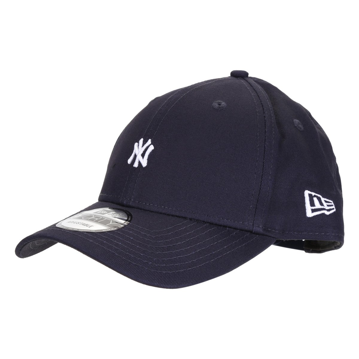 Boné New Era MLB New York Yankees Aba Curva Snapback 940 Mini Logo