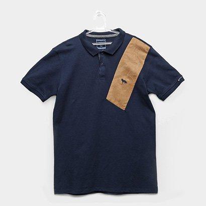 Camisa Polo Infantil Acostamento Masculina