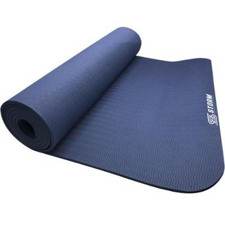 bfc9219ac Tapete Colchonete De Yoga E Pilates Zstorm Yoga Mat Em Tpe