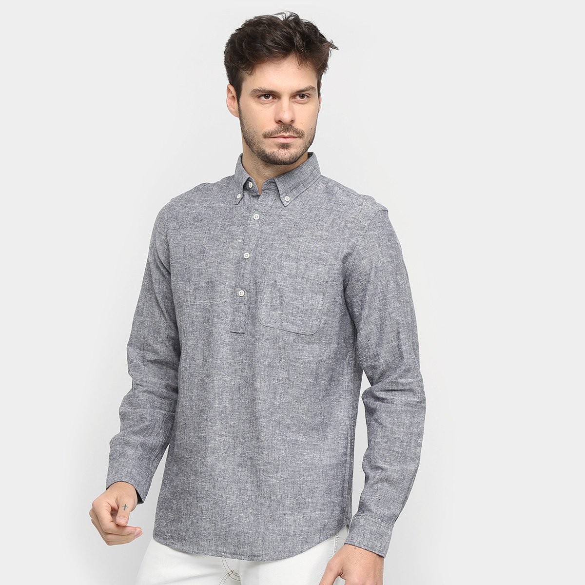 Camisa GAP Manga Longa Masculina