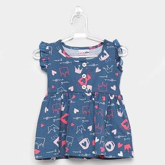 b30aae166 Vestido Infantil Candy Kids Coroa Feminino