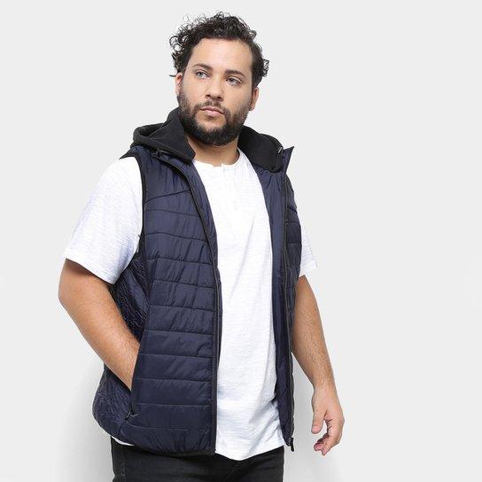 e184246d4 Colete Delkor Puffer Plus Size Masculino - Marinho | Netshoes