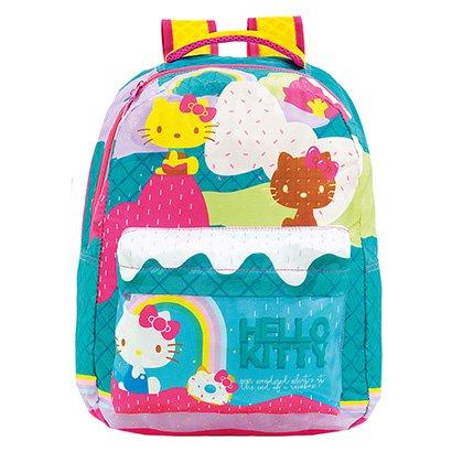Mochila Escolar Infantil Xeryus Hello Kitty