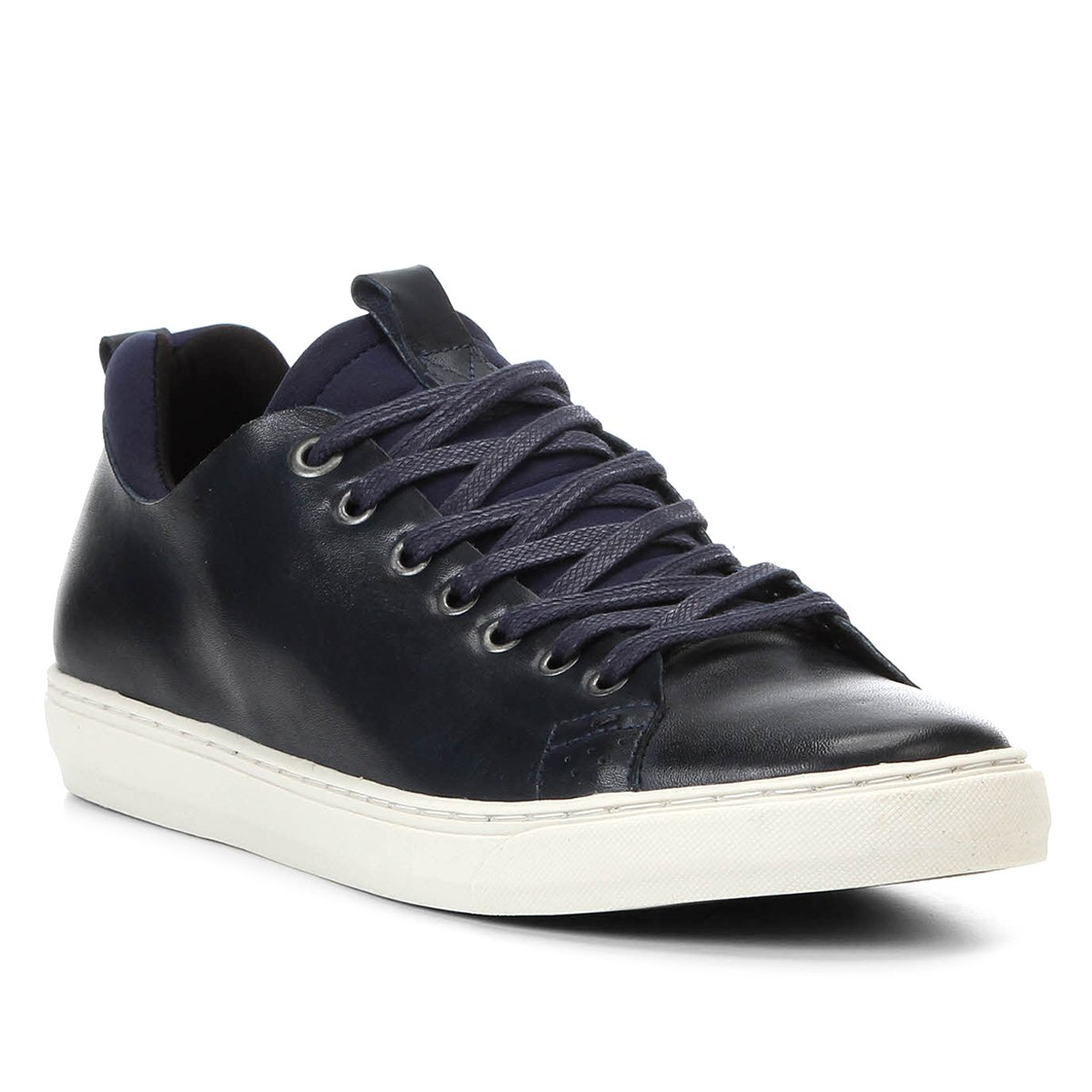 Sapatênis Shoestock Neoprene Couro Masculino