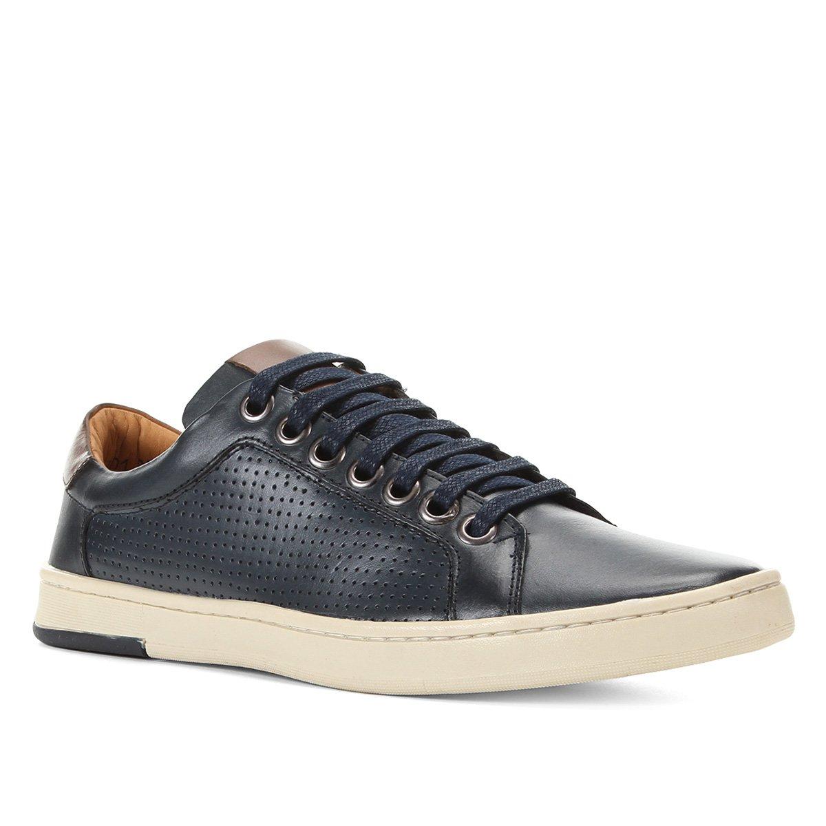 Sapatênis Couro Shoestock Street Masculino
