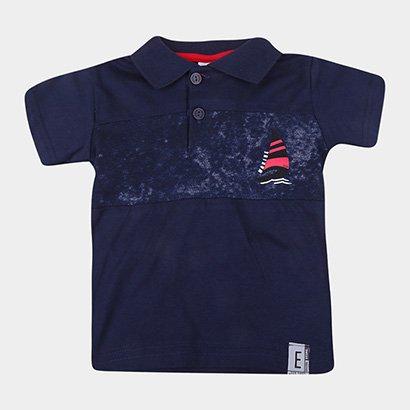 Camisa Polo Infantil Elian Básica Masculina