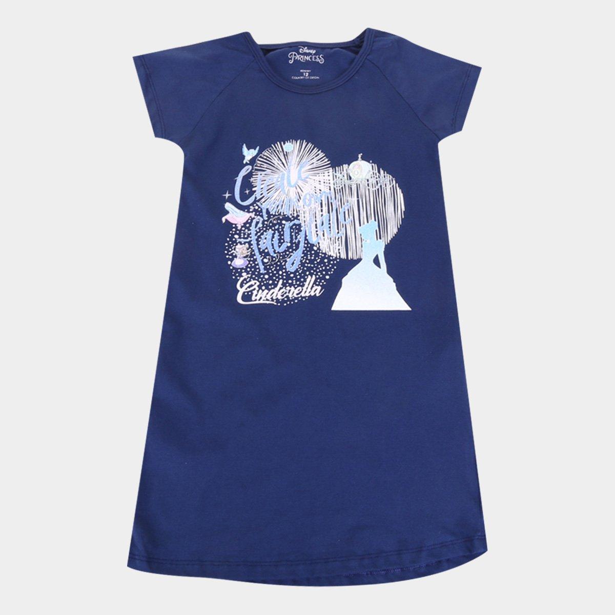 Vestido Infantil Disney Cinderela Fairy Tail